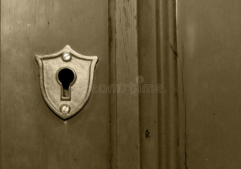 Key Hole Stock Photo