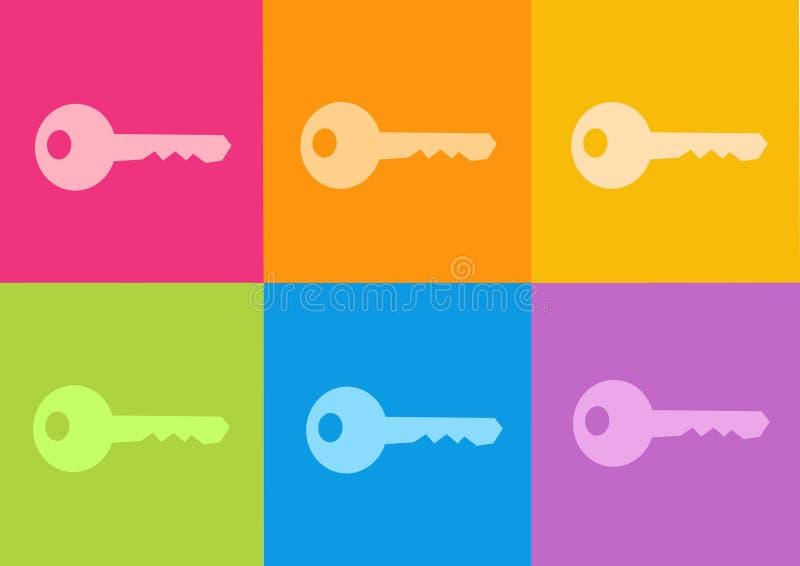 Key icon vector illustration