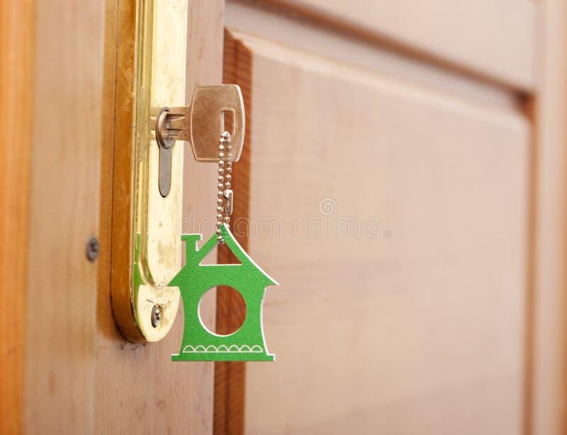 key keyhole arkivbild