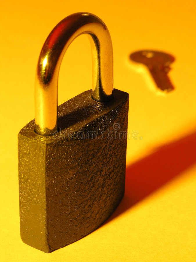 Download Key lås fotografering för bildbyråer. Bild av tangent, låst - 246957