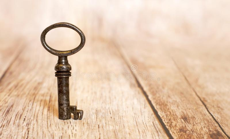 Key - life coaching concept. Key and success - life coaching concept with copy space stock image