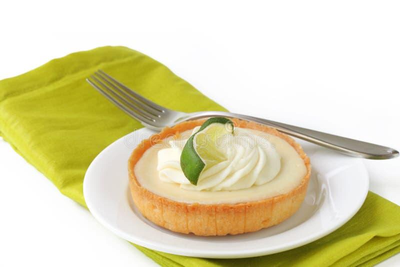 Key Lime tart stock images