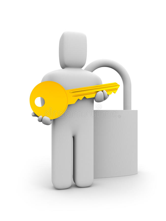 Download Key from the lock stock illustration. Image of conceptual - 15787121