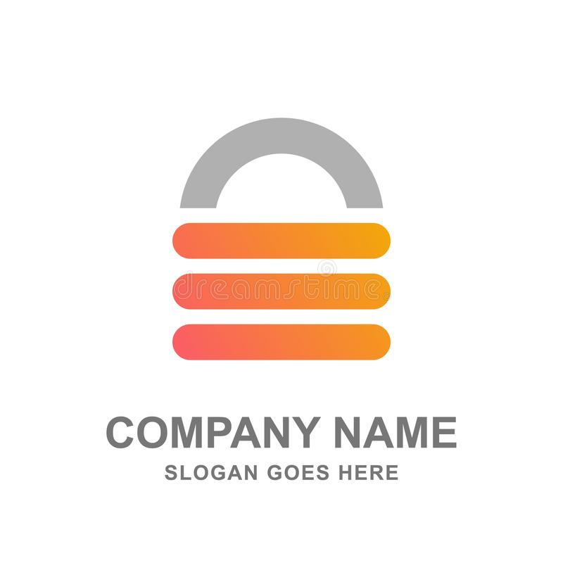 Free Key Lock Padlock Security Logo Vector Royalty Free Stock Photos - 99473378
