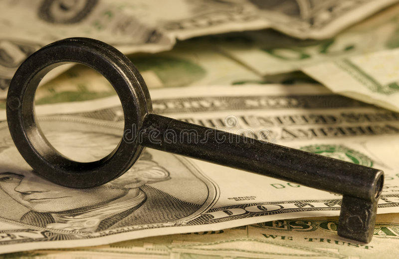 Download Key & Money Royalty Free Stock Photography - Image: 511387