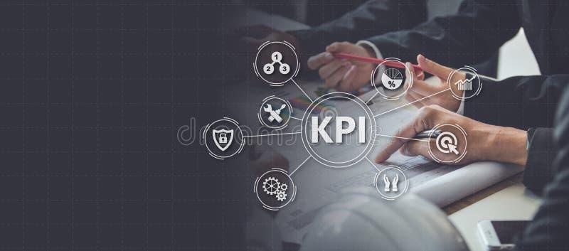 Key Performance Indicator KPI using Business Background with i stock photos