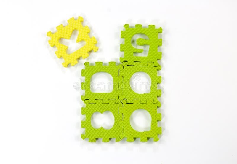 The Key Puzzle Stock Image