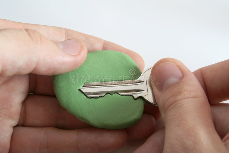 Download Key steal - security hoax stock image. Image of theft - 1309871