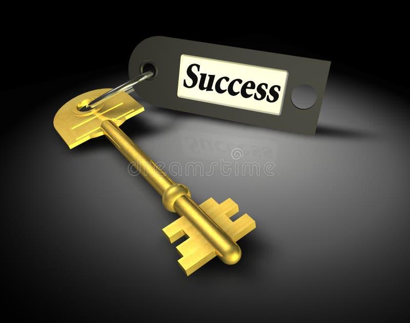 Key of success royalty free stock photos