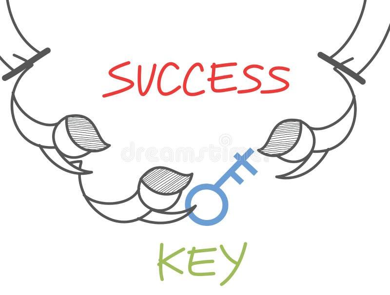Download Key success circus stock vector. Image of help, cartoon - 28483124