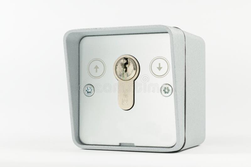 Key Switch Royalty Free Stock Photos