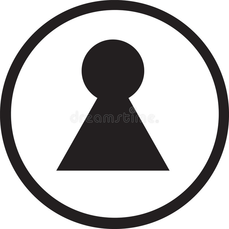 Key symbol sign royalty free stock photos