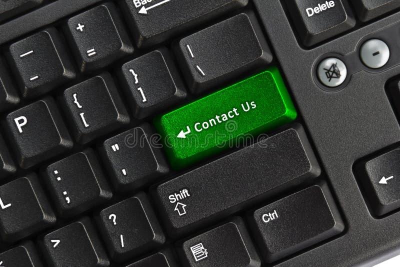 key tangentbordPC för kontakt oss arkivbilder