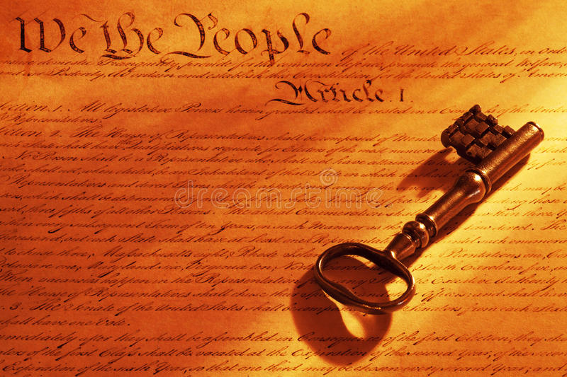 Download Key to the Constitution stock image. Image of constitutuion - 25585175