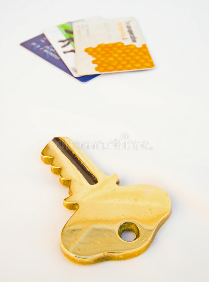 Download Key to credit ? stock image. Image of score, bankruptcy - 12056407