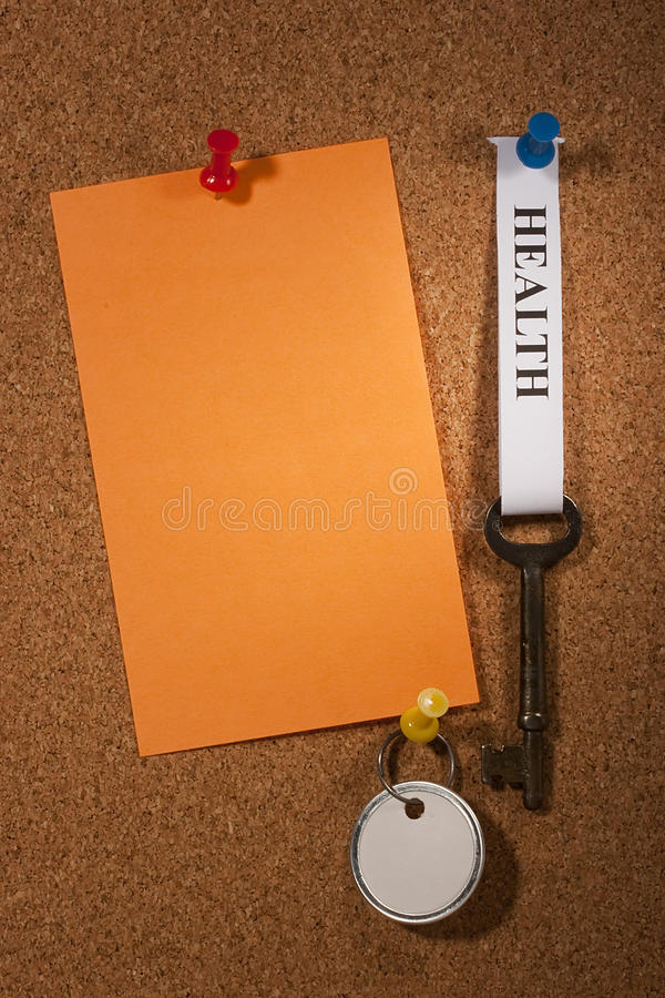 Download Key To Health Stock Image - Image: 18299101