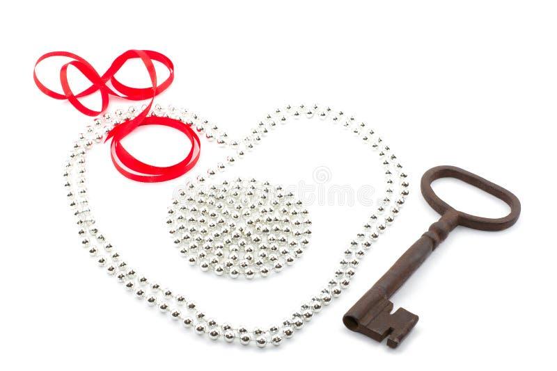Key To The Heart Stock Photo