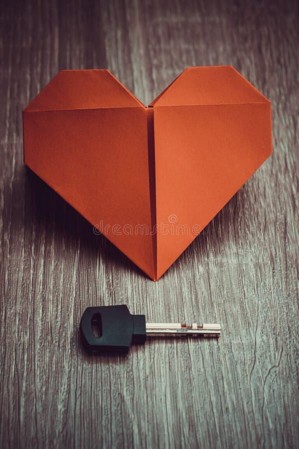 Key To Heart Symbol Of Love Stock Photo Image Of Handle Valentine