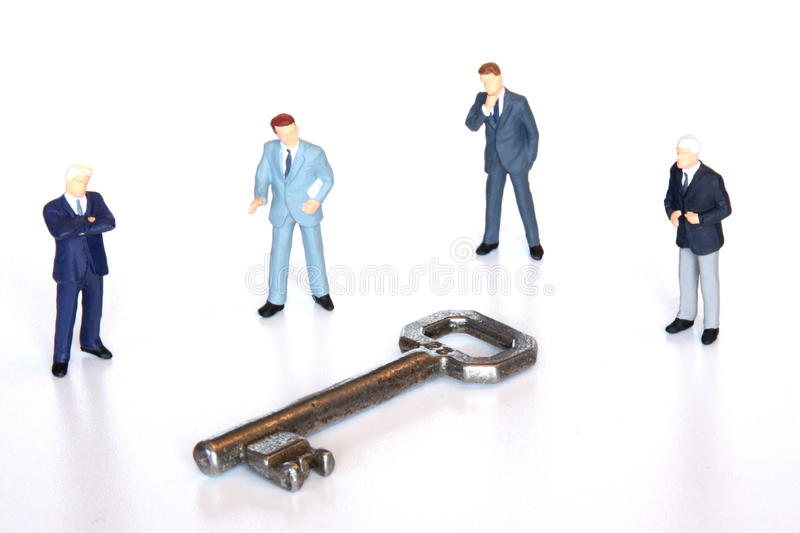 Key to the market stock images
