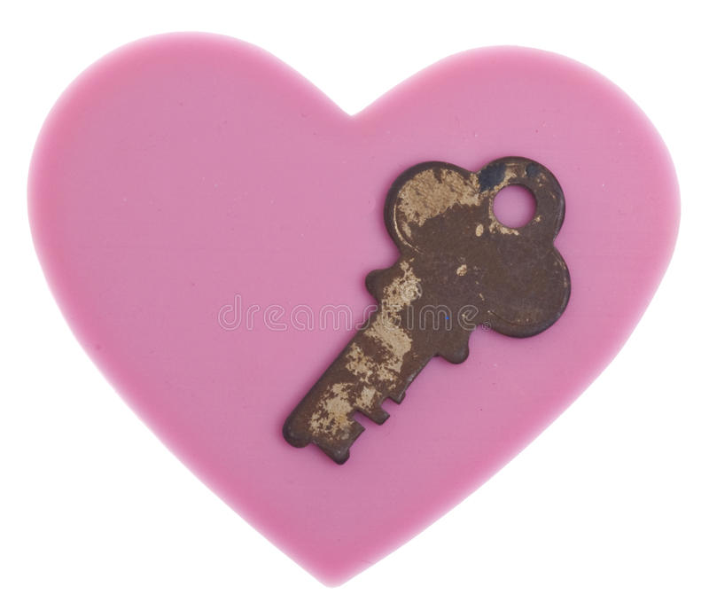 Download The Key to My Heart stock photo. Image of metal, conceptual - 15196790