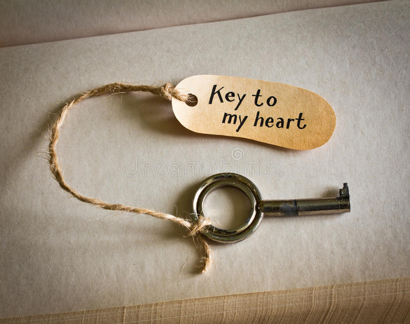 Download Key To My Heart Royalty Free Stock Images - Image: 28838149