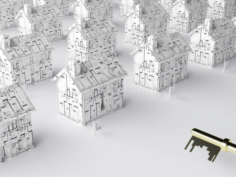 Download Key To A New Home Stock Photo - Image: 3573510