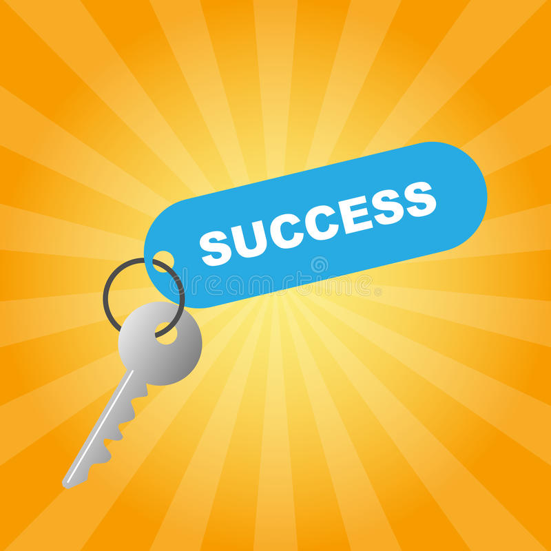Download Key to success stock vector. Illustration of idea, opportunity - 13955668