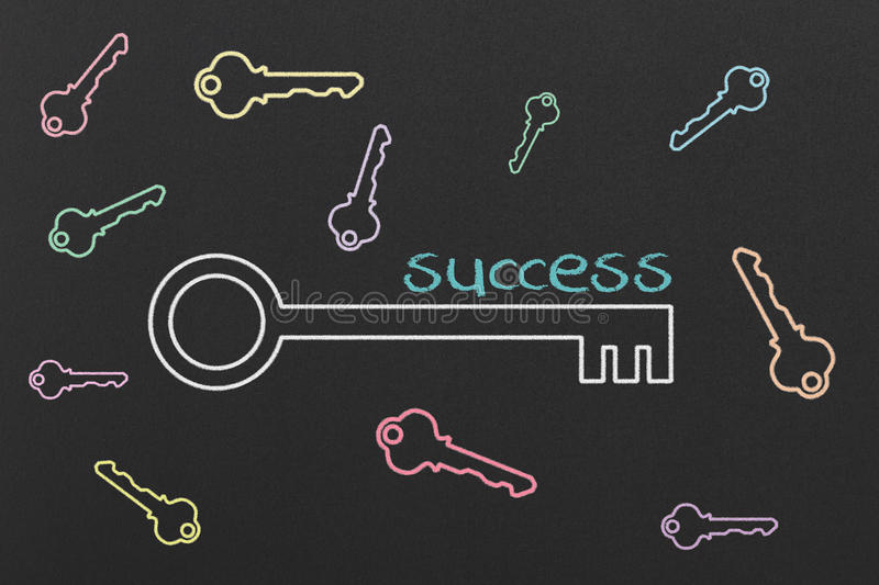 Download Key to Success stock illustration. Image of goal, diagram - 40460953