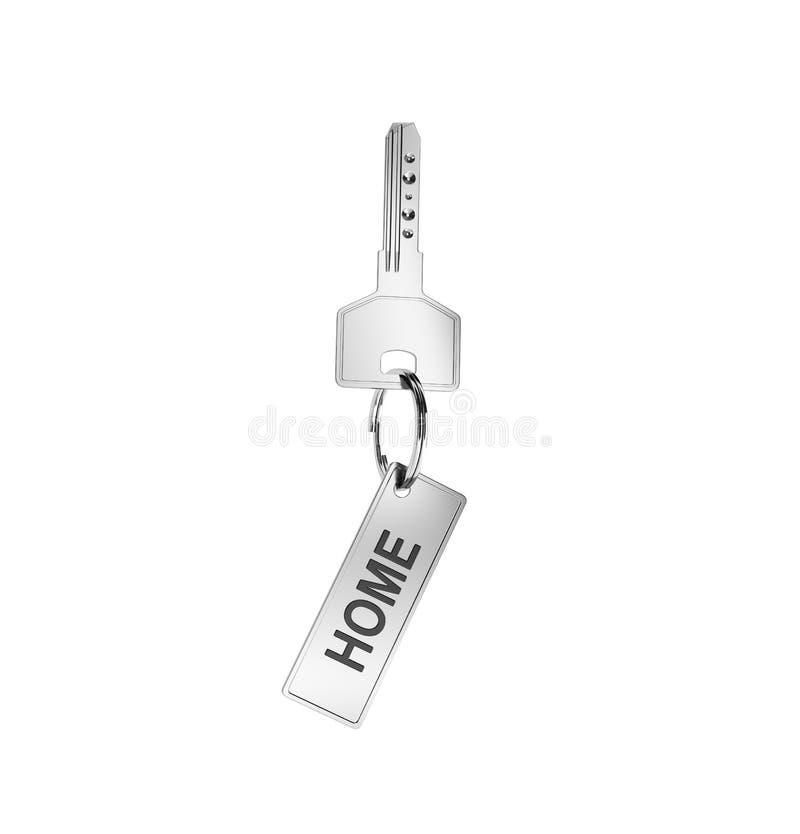 Key with trinket royalty free stock photo