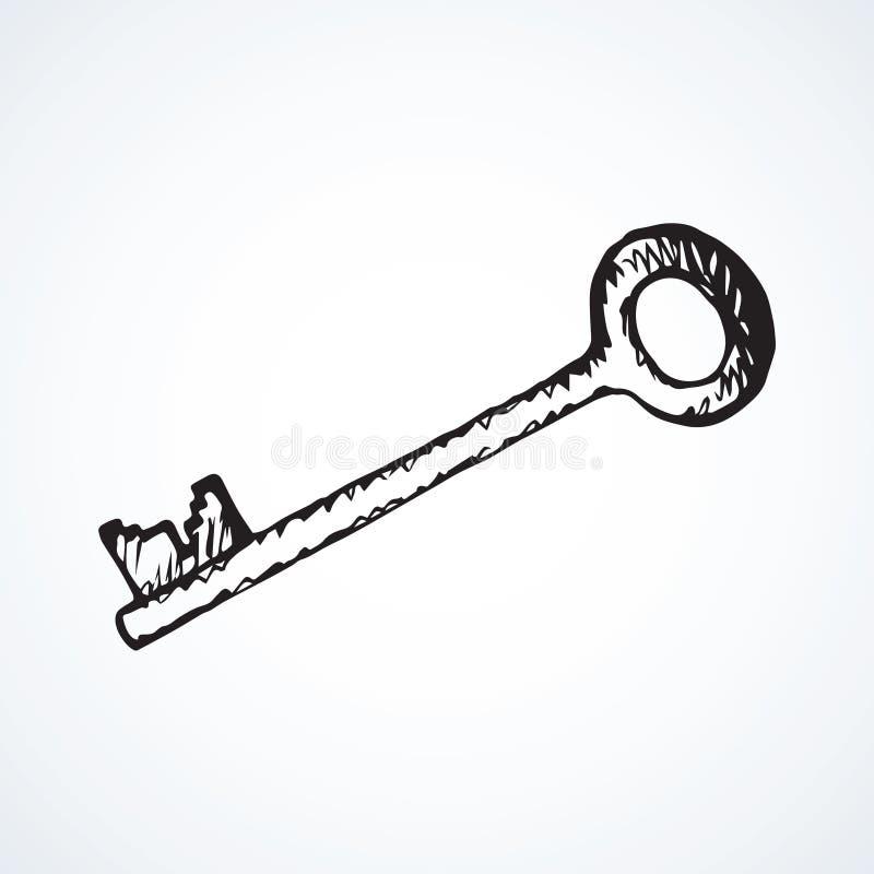 Key. Vector drawing vector illustration