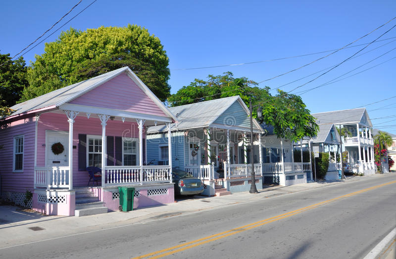 Key West样式之家 库存图片