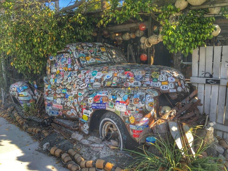Key West-Anziehungskraft lizenzfreies stockbild