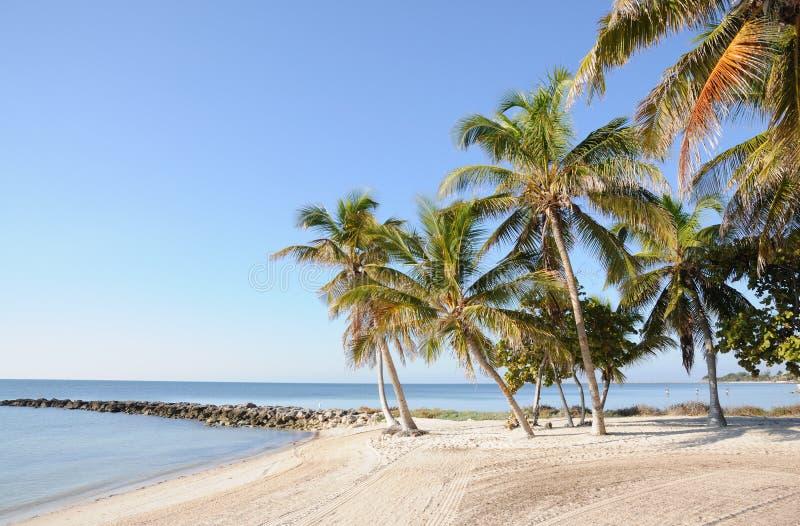 Key West Beach in Florida royalty free stock photos