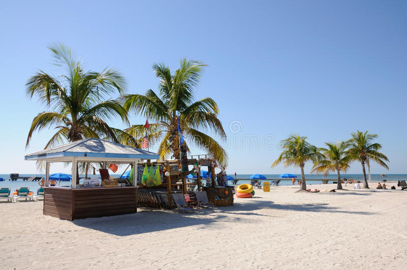 Key West Beach, Florida royalty free stock image