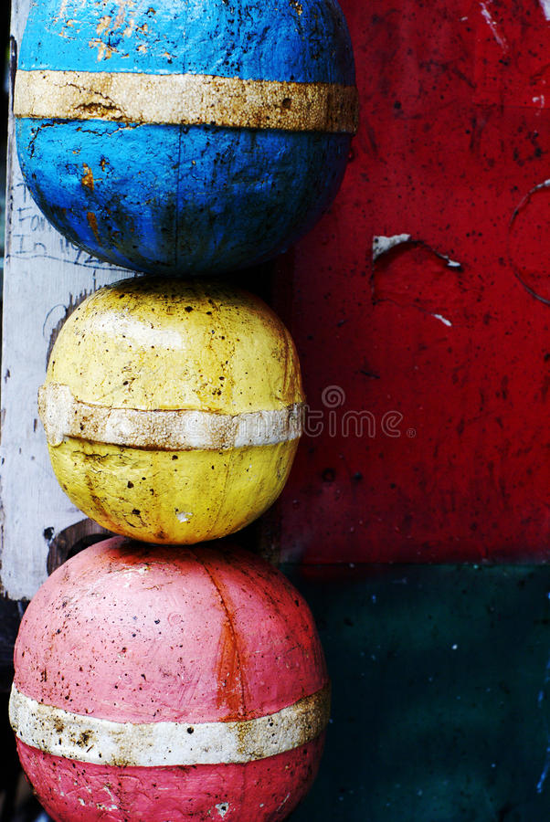 Key West Buoys stock photo