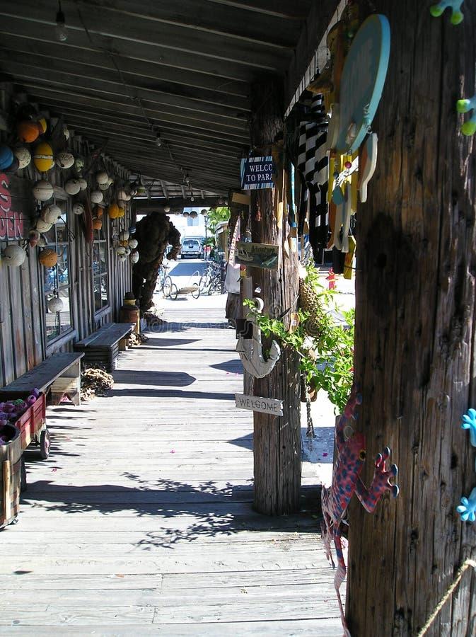 Key West Emporium för souvenir av havslifesaven royaltyfri foto