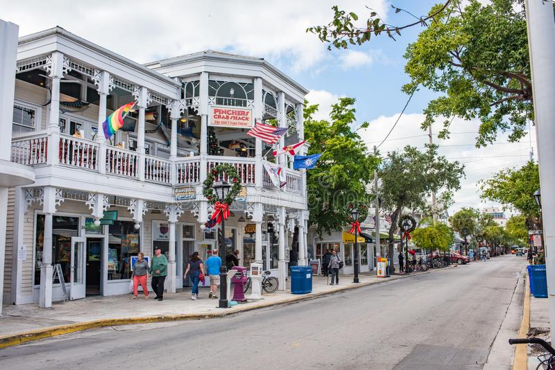 Download Duval Street In Key West, Florida. Editorial Stock Photo - Image of tourist, duval: 109793253