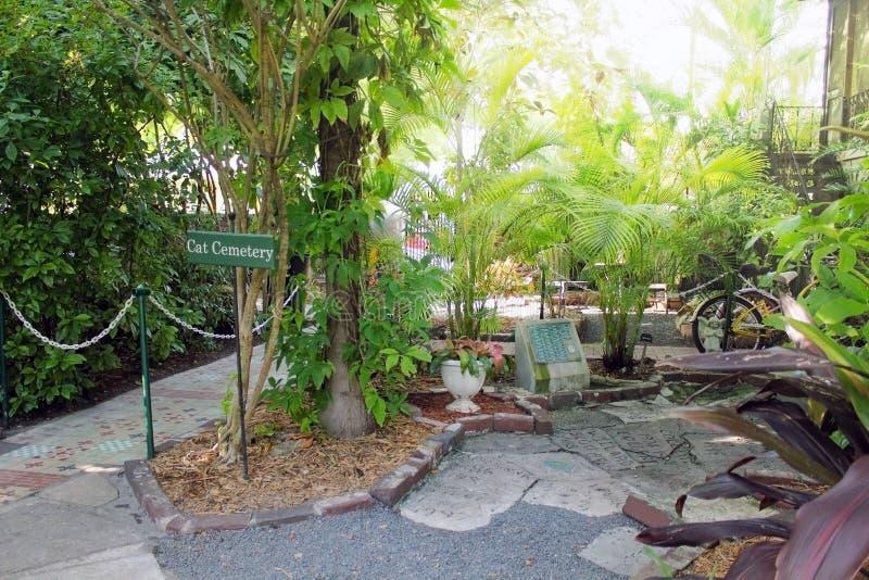 Key West, Florida, EUA - 6 de janeiro de 2014: A cozinha da casa de Ernest Hemingway em Key West, EUA foto de stock