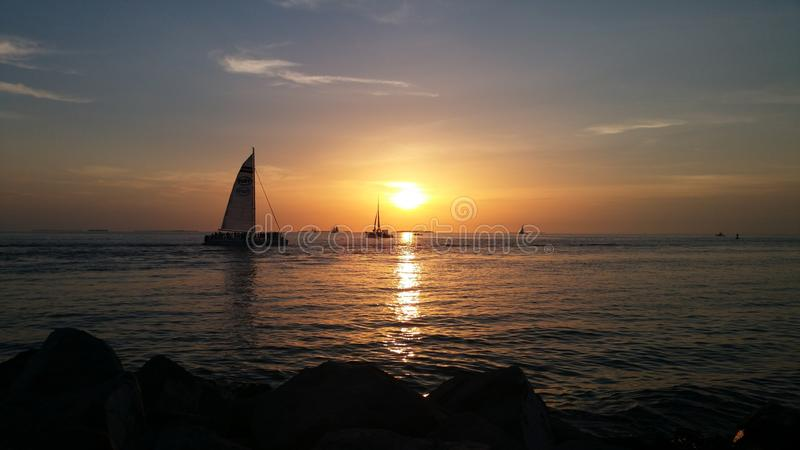 Key West Florida royalty free stock photo