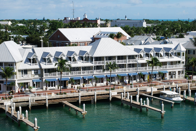 Key West Harbour stock image