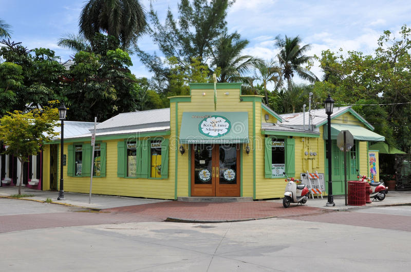 Key West lime pie store royalty free stock photography
