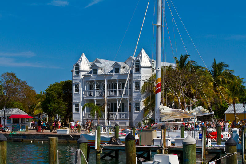 Key West Mallory Square fotografie stock