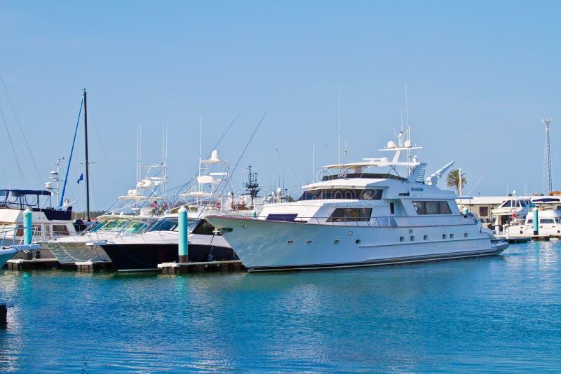 Key West Marina View foto de stock royalty free