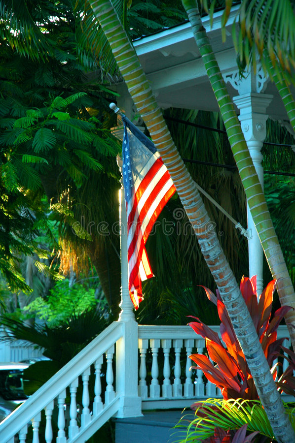 Key- Westportal lizenzfreies stockbild