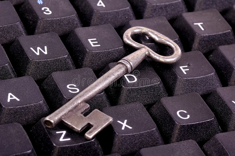 Keyboard. Key on a Keyboard