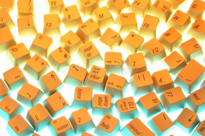 Keyboard-A stock images