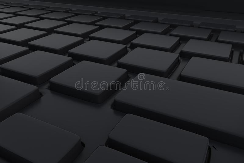 Download Keyboard stock illustration. Image of laptop, clipping - 25975238