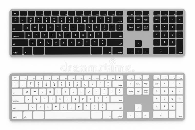 Download Keyboard stock illustration. Image of button, keypad - 26254713