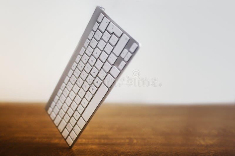 Keyboard at an angle royalty free stock images