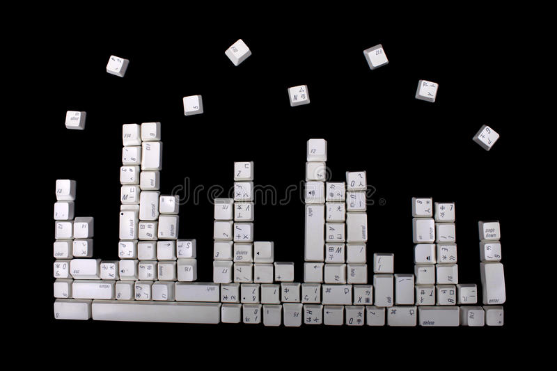 Download Keyboard Buttons Pattern Royalty Free Stock Images - Image: 19623879